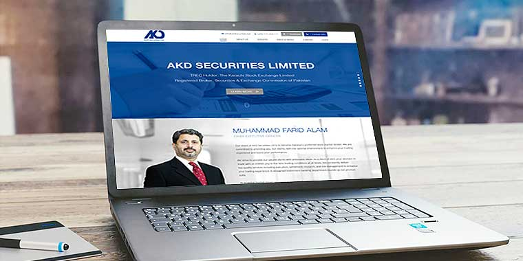 logo design service for AKD Securities Limited