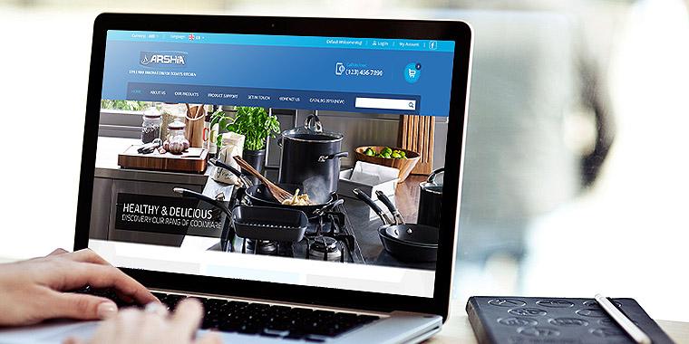 web design and development service for Arshia