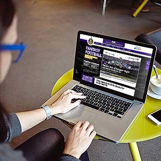 web design and development service for Fantasy Football