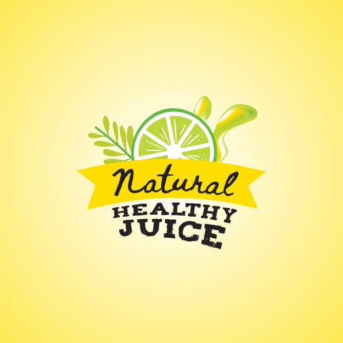 logo design service for Natural Healthy Juice