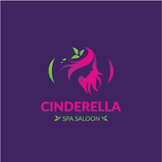 logo design service for Cinderella SPA Saloon