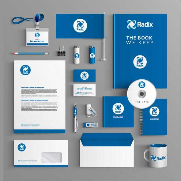 logo design service for Radix