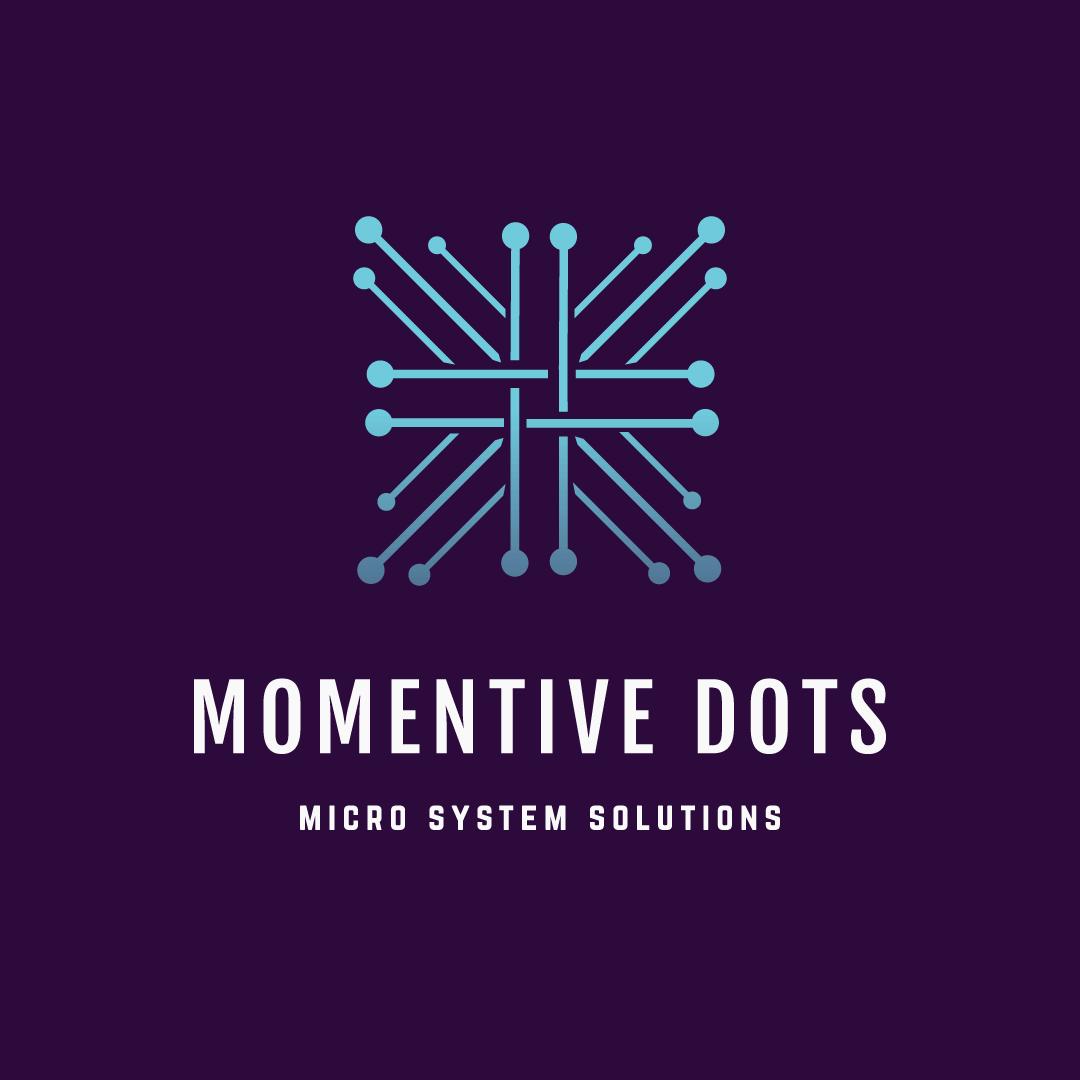 logo design service for momentive dots